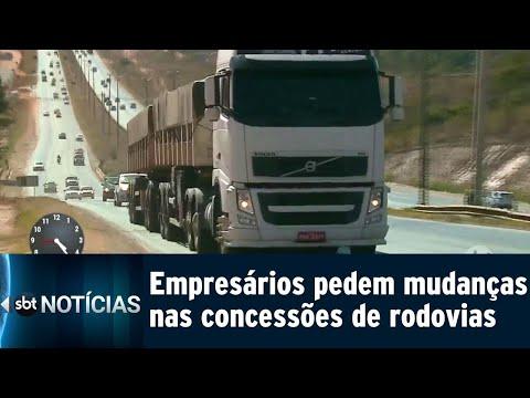 Empresários pedem atenção de candidatos para o setor rodoviário | SBT Notícias (15/09/18)
