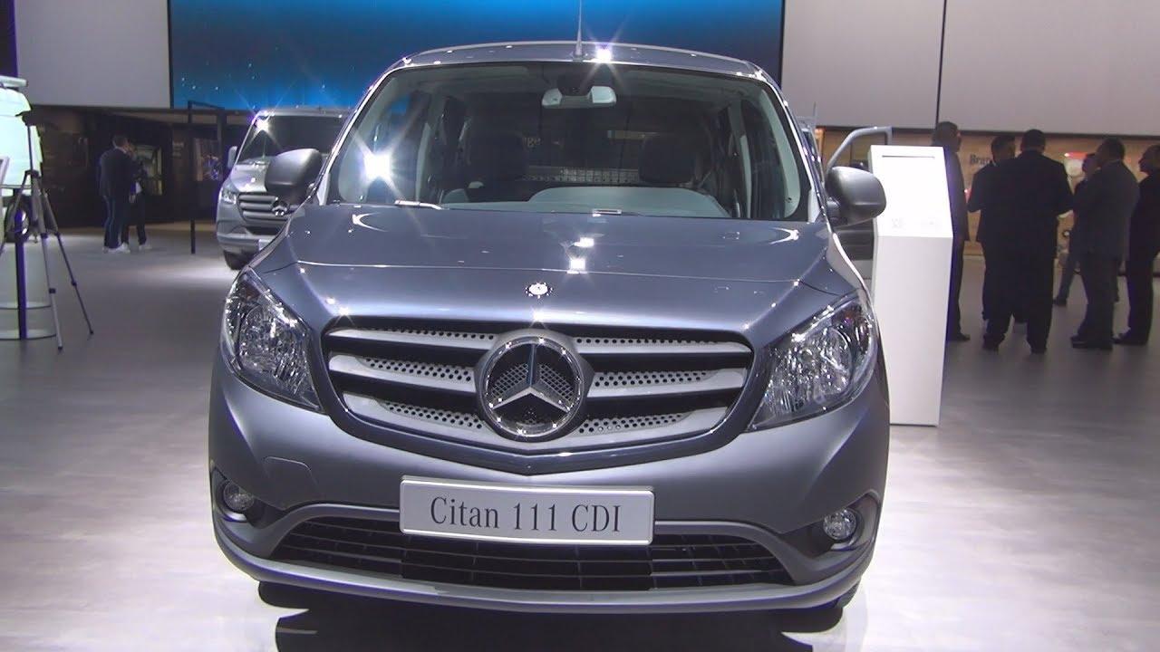 Mercedes Benz Citan 111 Cdi Mixto Combi Van 2019 Exterior And