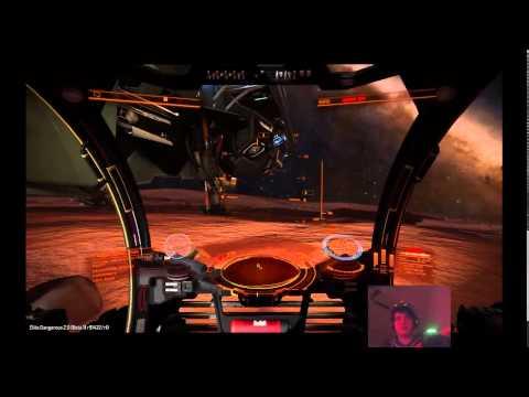 Elite:Dangerous Horizons Beta - First Planetary Landing & Buggy Driving