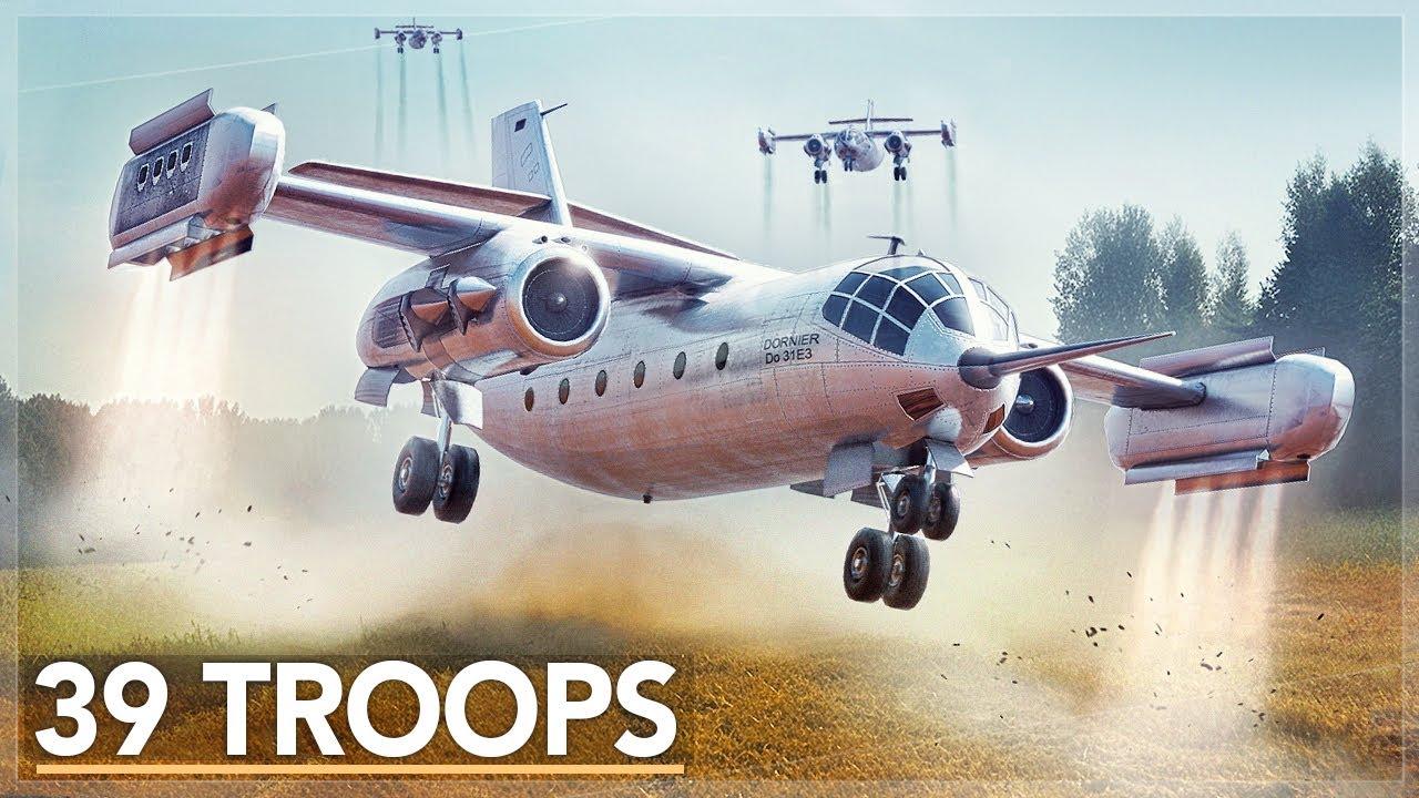 Germany's Insane Hover Jet Transport: The Do 31 Story