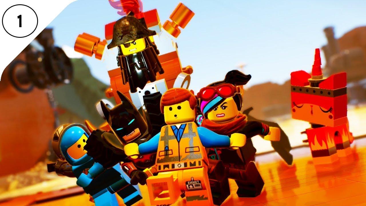 Lego Przygoda 2 Gra Wideo 1 Zaczynamy Przygodę Z Emmetem Gra