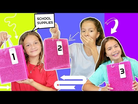 SCHOOL SUPPLIES SWITH UP CHALLENGE | SISTER FOREVER