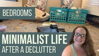 MINIMALIST HOME AFTER DECLUTTER [house tour of bedrooms]