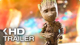 GUARDIANS OF THE GALAXY VOL. 2 Baby Groot Opening Scene & Trailer (2017)