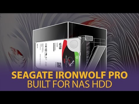 Seagate IronWolf Pro - Built For NAS HDD - Mwave.com.au