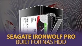 Gambar cover Seagate IronWolf Pro - Built For NAS HDD - Mwave.com.au
