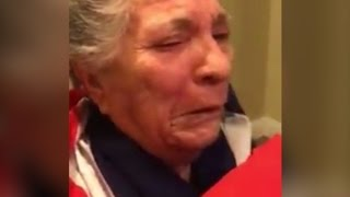 Grandmother's emotional reaction to Castro's death