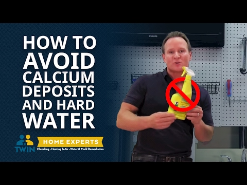 How To Avoid Calcium Deposits, Limescale & Hard Water On Your Plumbing