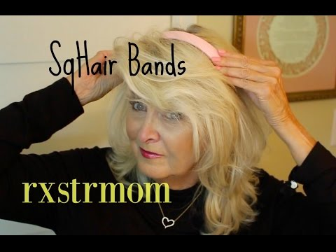 How To Have a Great Hair Day ! SqHair Bands 🌸🌷 - YouTube