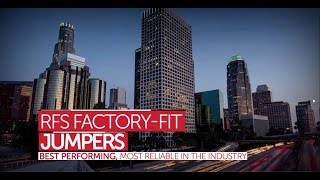 RFS Factory-Fit Jumpers: Trust the Leader in Wireless Infrastructure