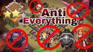 TH8 WAR BASE 2018 with replays | ANTI 1 STAR/ANTI 2 STARS | ANTI EVERYTHING | TROPHY PUSH