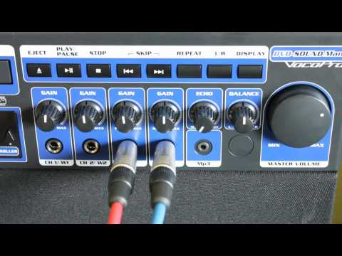 Steve's Mobile Music Karaoke Rental - Setup & Operation