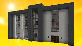 Minecraft: Как построить дом в современном стиле