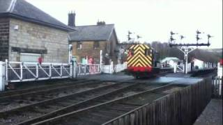 NYMR Class 11 Diesel Shunter British Rail Black Grosmont