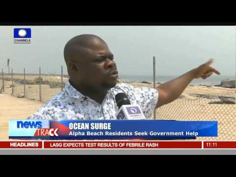 Ocean Surge: Alpha Beach Lagos, Takes A Hit