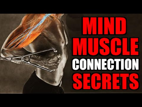 "HOW TO BUILD EPIC MUSCLE WITH YOUR ""MIND MUSCLE CONNECTION"" IN 4 EASY STEPS!!!"