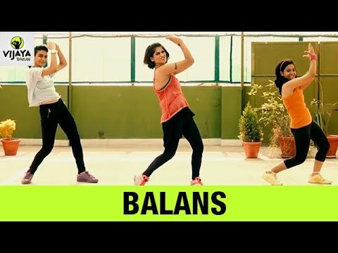 Zumba Routine on Balans Song | Zumba Dance Fitness | Choreographed by Vijaya Tupurani