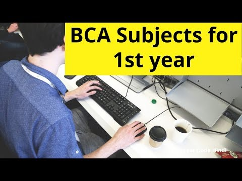 Code Hindi: BCA subjects in first year explained by Vicky Shetty