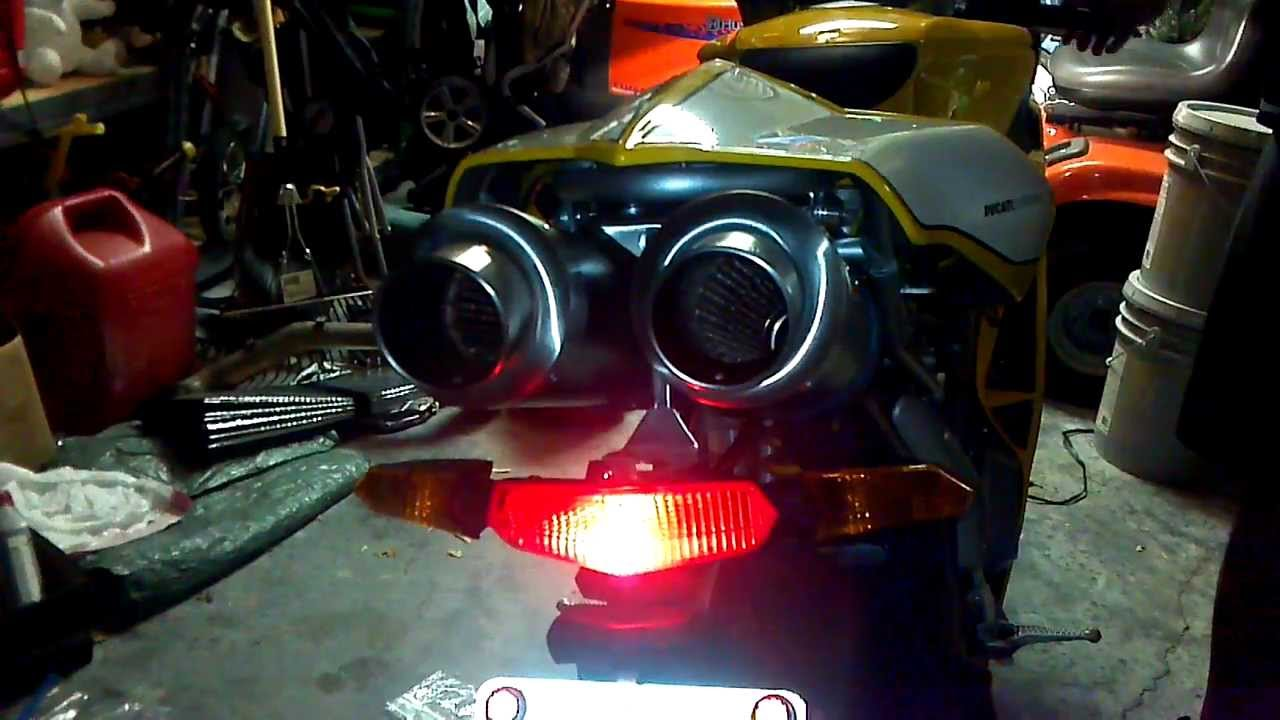 ducati 749s with mivv exhaust - youtube