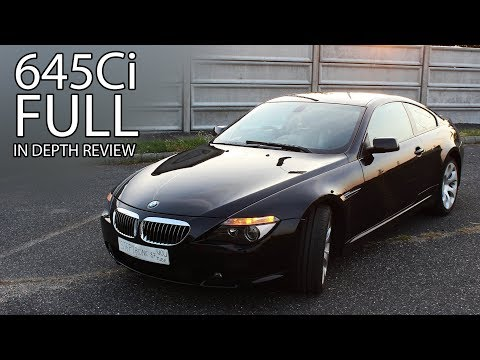 2004 BMW 645Ci (E63) M-Sport Package In Depth Review Interior Exterior