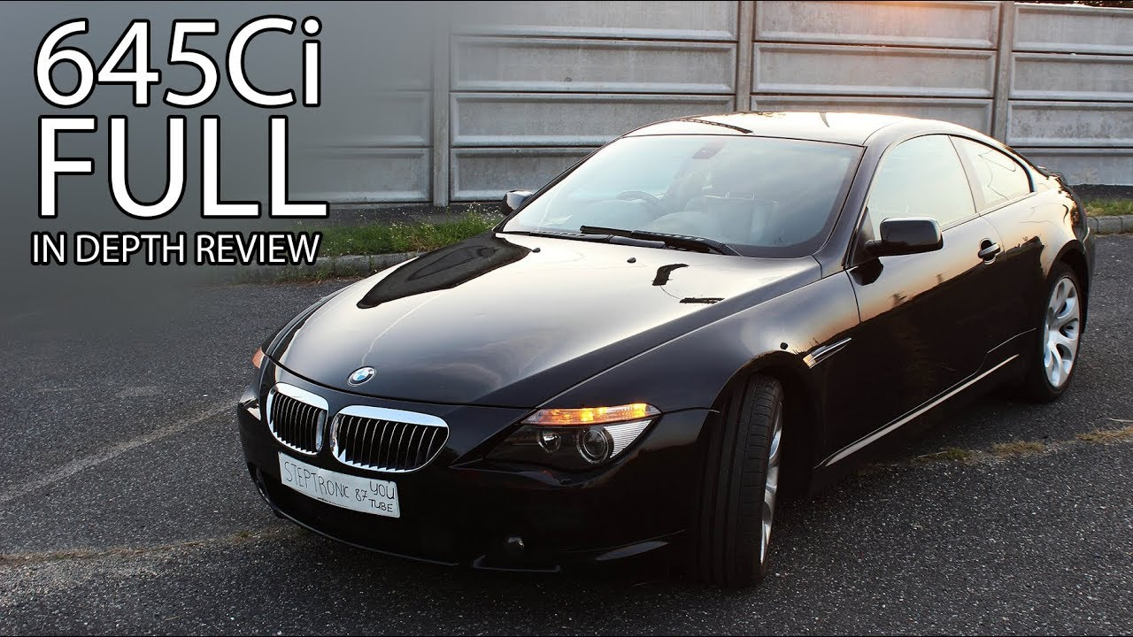 2004 bmw 645ci e63 m sport package in depth review interior exterior youtube. Black Bedroom Furniture Sets. Home Design Ideas
