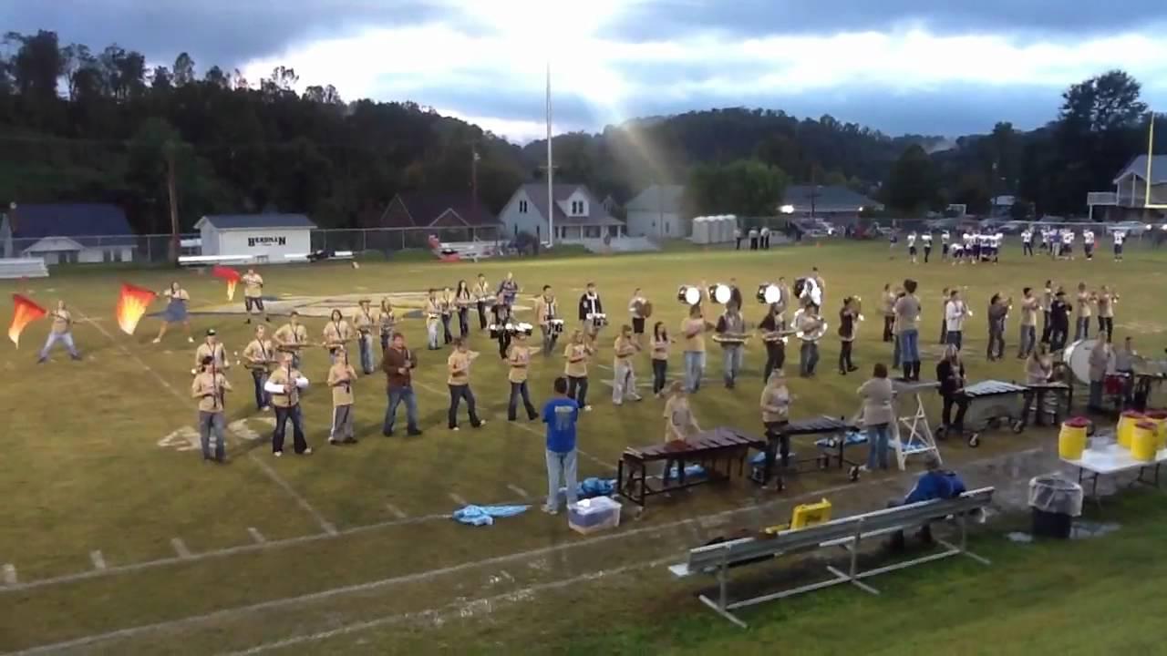 Morgan County High School Marching Band 9 28 12 Sorghum Bowl Youtube