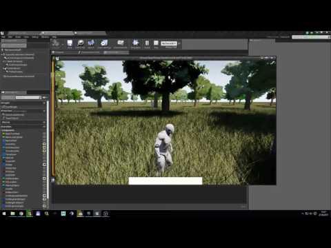 UE4 Foliage Interact/Harvest