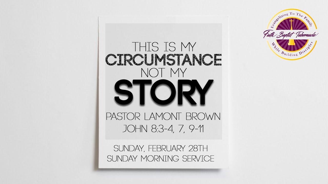 Sunday Morning Service   February 28th   Pastor Lamont Brown   Faith Baptist Tabernacle
