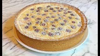 Очень Вкусный Пирог с Вишней /  Вишневый Пирог / Cherry Pie Recipe  / Простой Рецепт