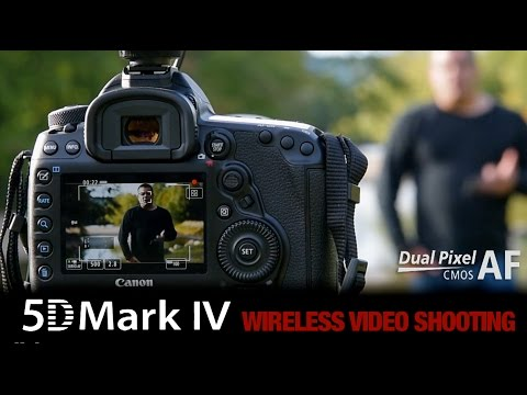 Wireless Remote Shooting With Canon 5D Mark IV