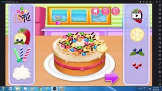 Kids Cooking | Funny Game For Kids| Make Birthday Cake