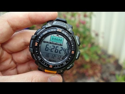 Casio Pathfinder / Protrek Triple Sensor Watch Review (PAG40-3V / PRG-40-3VER) - Perth WAtch #15