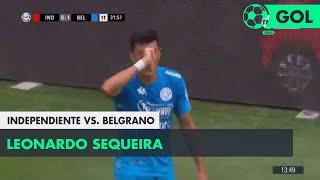 Leonardo Sequeira (0-1) Independiente vs Belgrano | Fecha 12 - Superliga Argentina 2018/2019