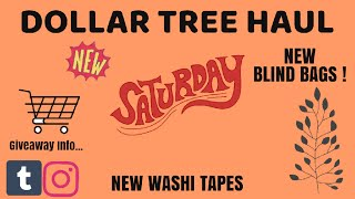 BIG DOLLAR TREE HAUL | LOTS OF NEW FINDS ! 11-9-19