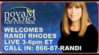 Randi Rhodes Destroys a right wing loon on 1150 AM Radio