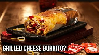 Taco Bell Now Has a Grilled Cheese Burrito!