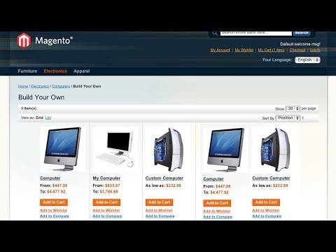 Creating a Bundle Product in Magento
