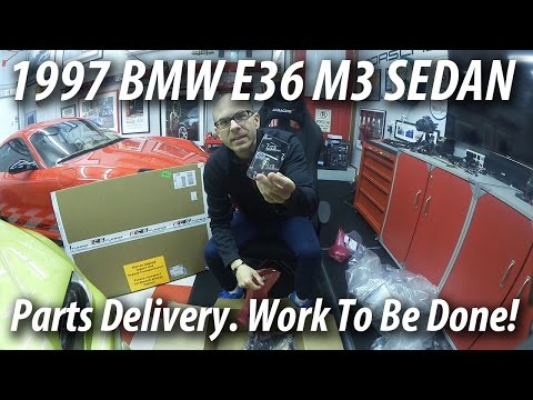 1997 BMW E36 M3 Sedan | Parts Delivery | Work to be Done!
