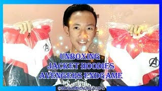 UNBOXING JACKET HOODIES QUANTUM REALM AVENGERS END GAME