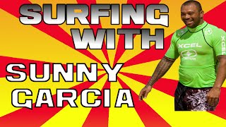 SURFING SUNNY GARCIA (minute 01:48) vs Hazem Hossny: Two amazing performances in HAWAII and SHATBY