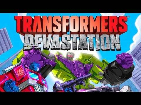 Transformers Games - Transformers Devastation - Transformers Cartoons for children