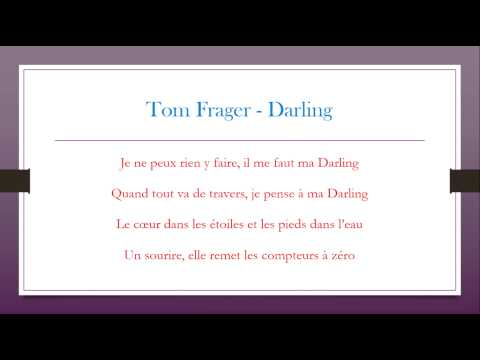 Tom Frager - Darling