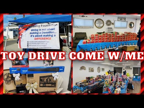 TOY DRIVE COME WITH ME | CHRISTMAS TOY DRIVE 2020 | HAPPY CHILDREN BRINGING SMILES & GIVING HOPE