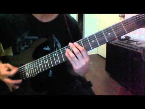 Meshuggah - Vanished (Guitar Cover)