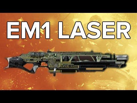 Advanced Warfare In Depth: EM1 Laser Review (& Variants Guide)