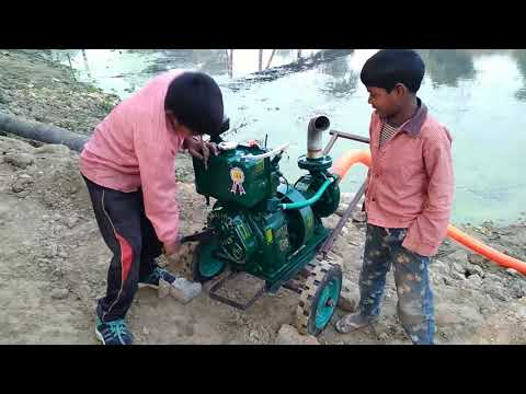 New Generator Testing 5hrs Power Engine water flow from River thumbnail