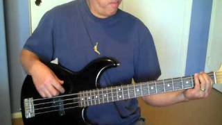 """Bette Davis Eyes"" (Kim Carnes)  Bass Cover"
