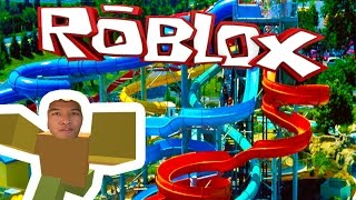 WATER PARK FUN!!!! | Roblox
