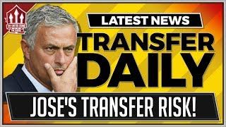 MOURINHO's 200 Million Transfer Risk | Manchester United Transfer News