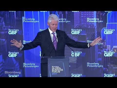 Bill Clinton On the Importance of Public-Private Partnerships